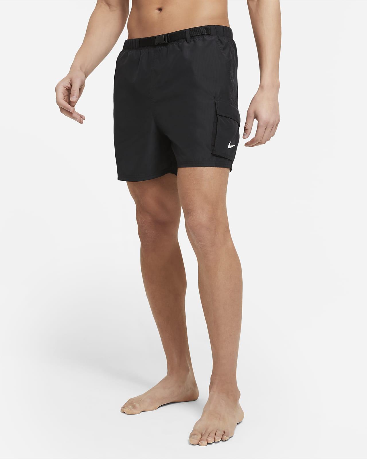 Packbara badshorts Nike med bälte 13 cm för män