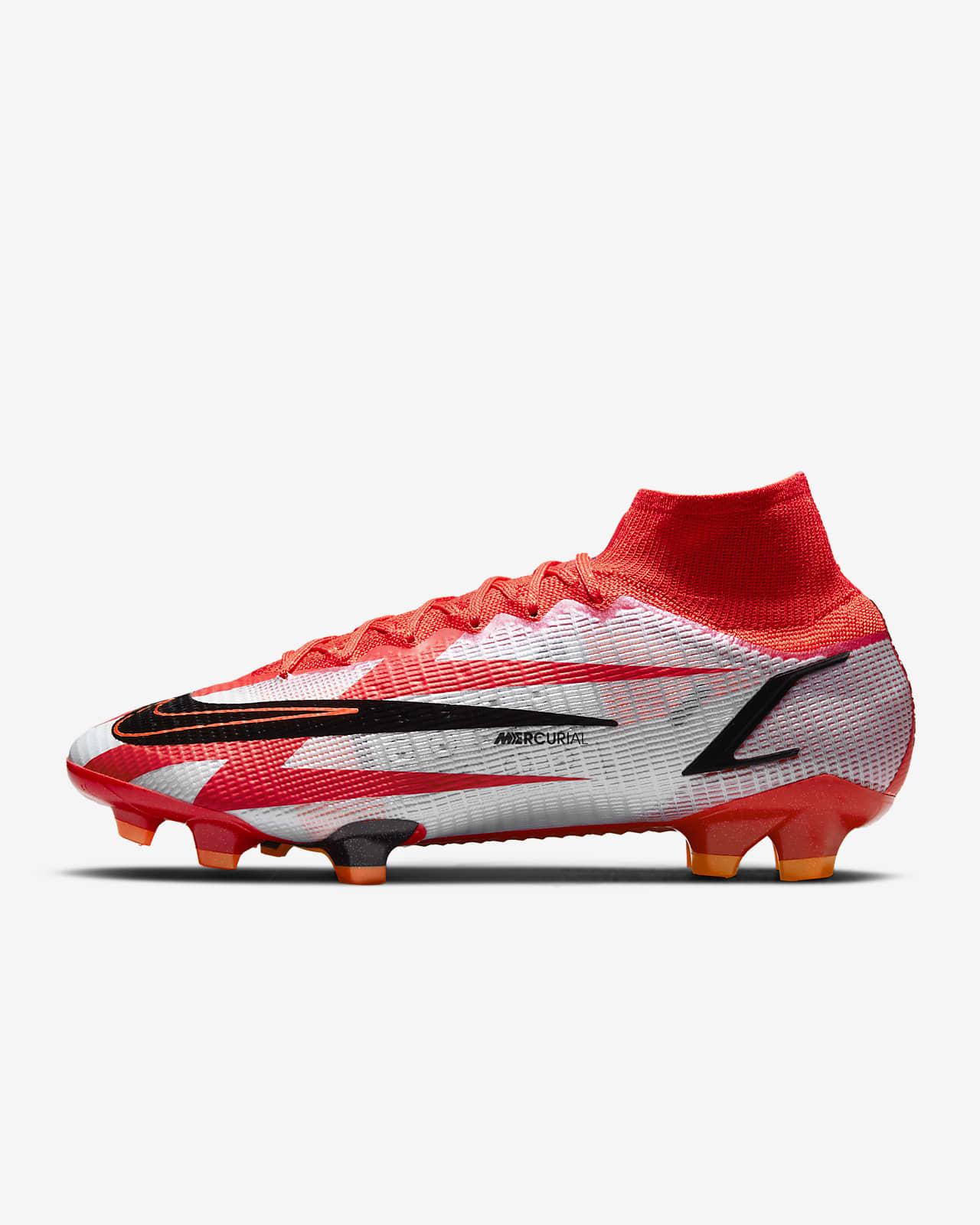 รองเท้าสตั๊ดฟุตบอลสำหรับพื้นสนามทั่วไป Nike Mercurial Superfly 8 Elite CR7 FG