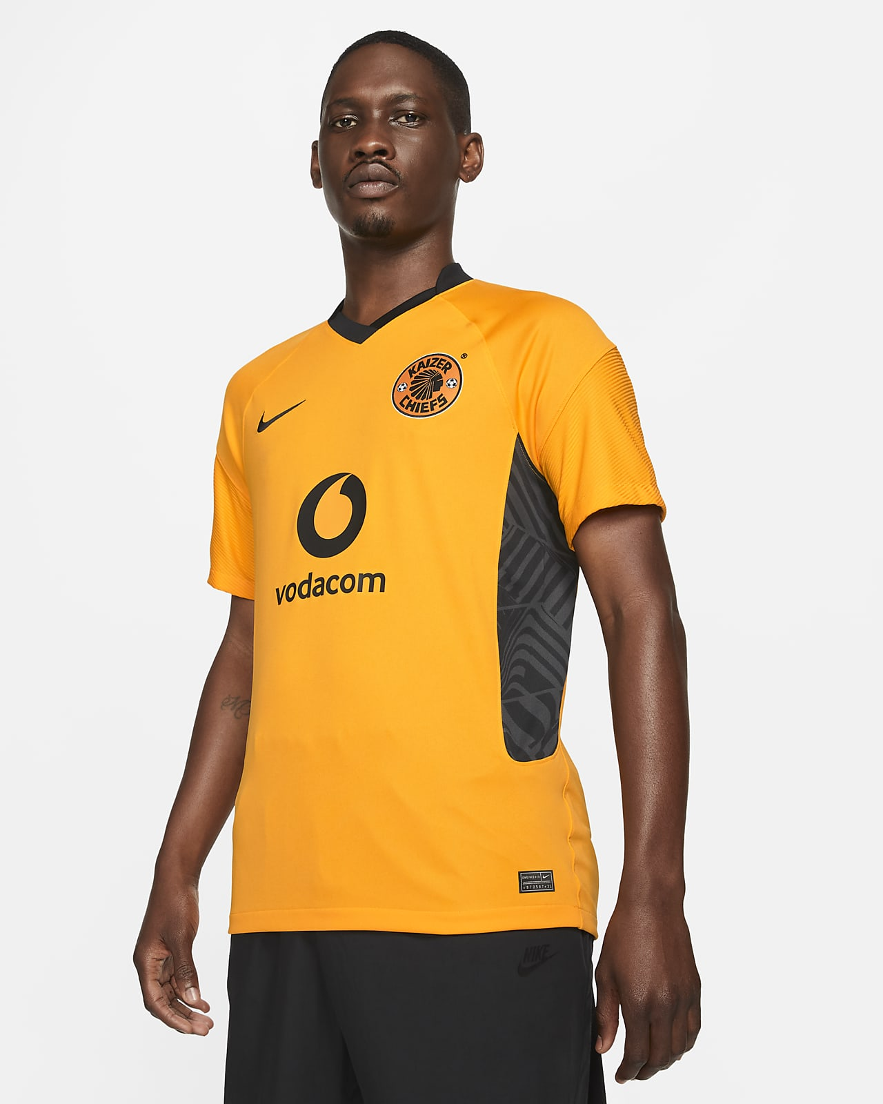 Kaizer Chiefs F.C. 2021/22 Stadium Home Men's Nike Dri-FIT Football Shirt