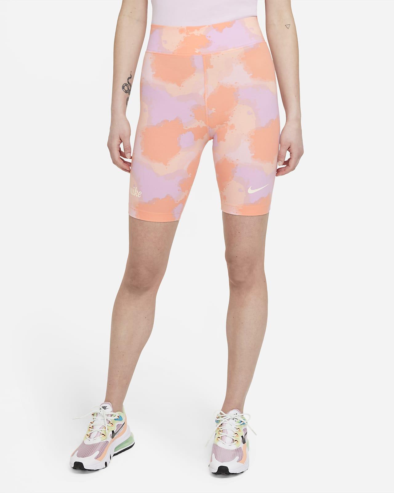 Женские велошорты с высокой посадкой Nike Sportswear