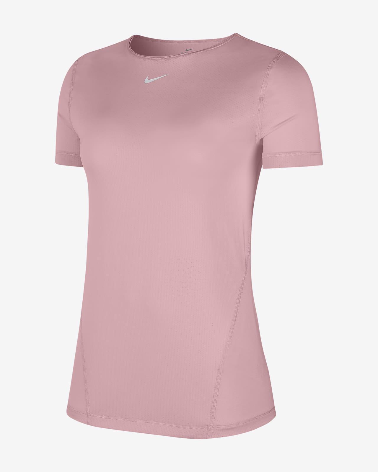 Nike Pro 女款網布上衣 (加大尺寸)