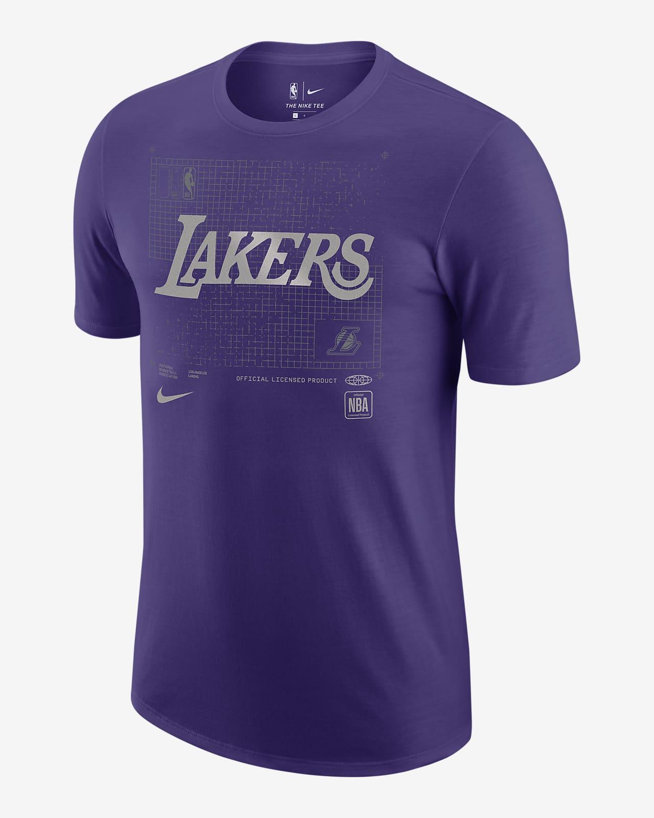 Los Angeles Lakers Courtside Chrome Men's Nike NBA T-Shirt
