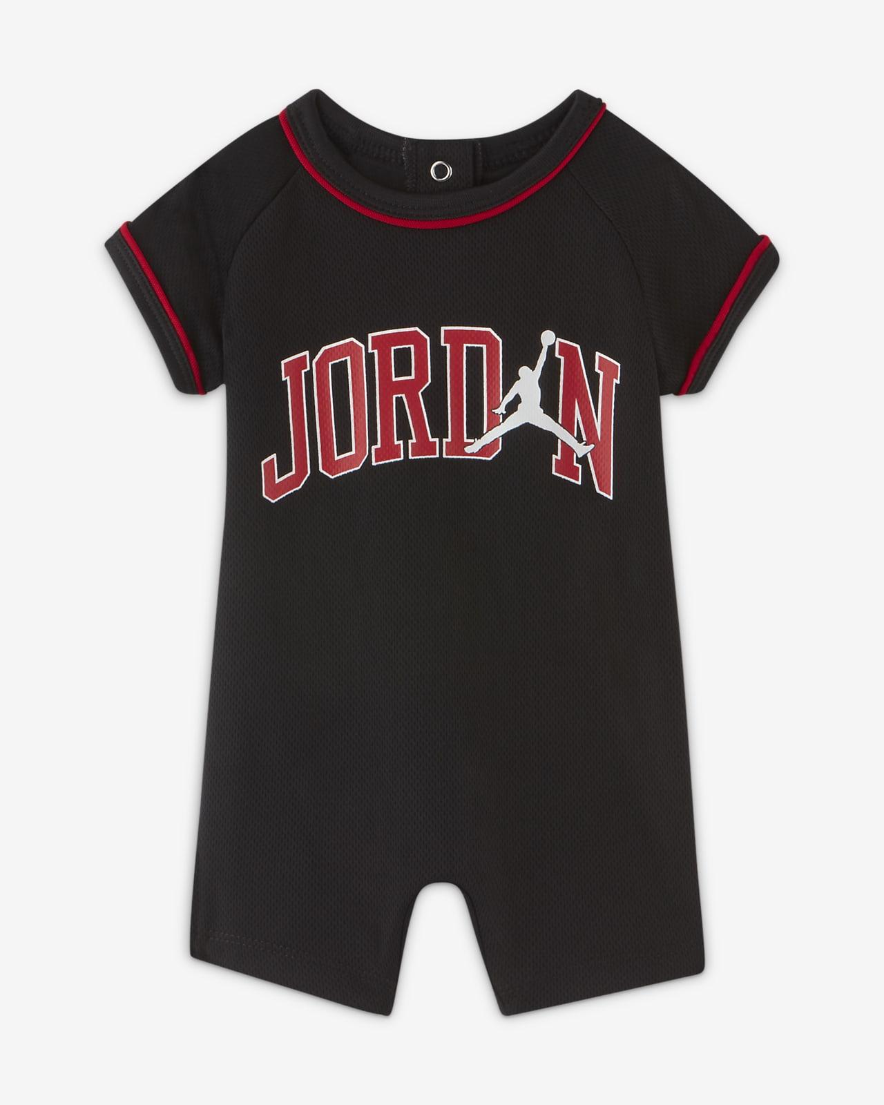 Jordan Baby (0-9M) Mesh Romper
