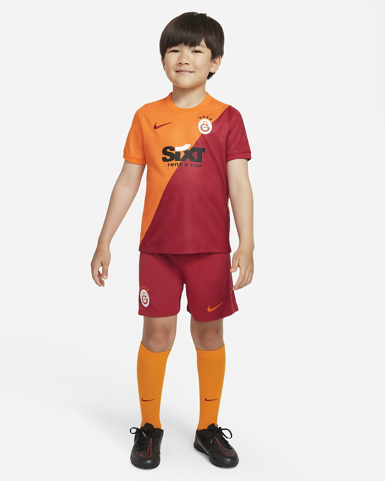 Galatasaray 2021/22 Home Younger Kids' Football Kit