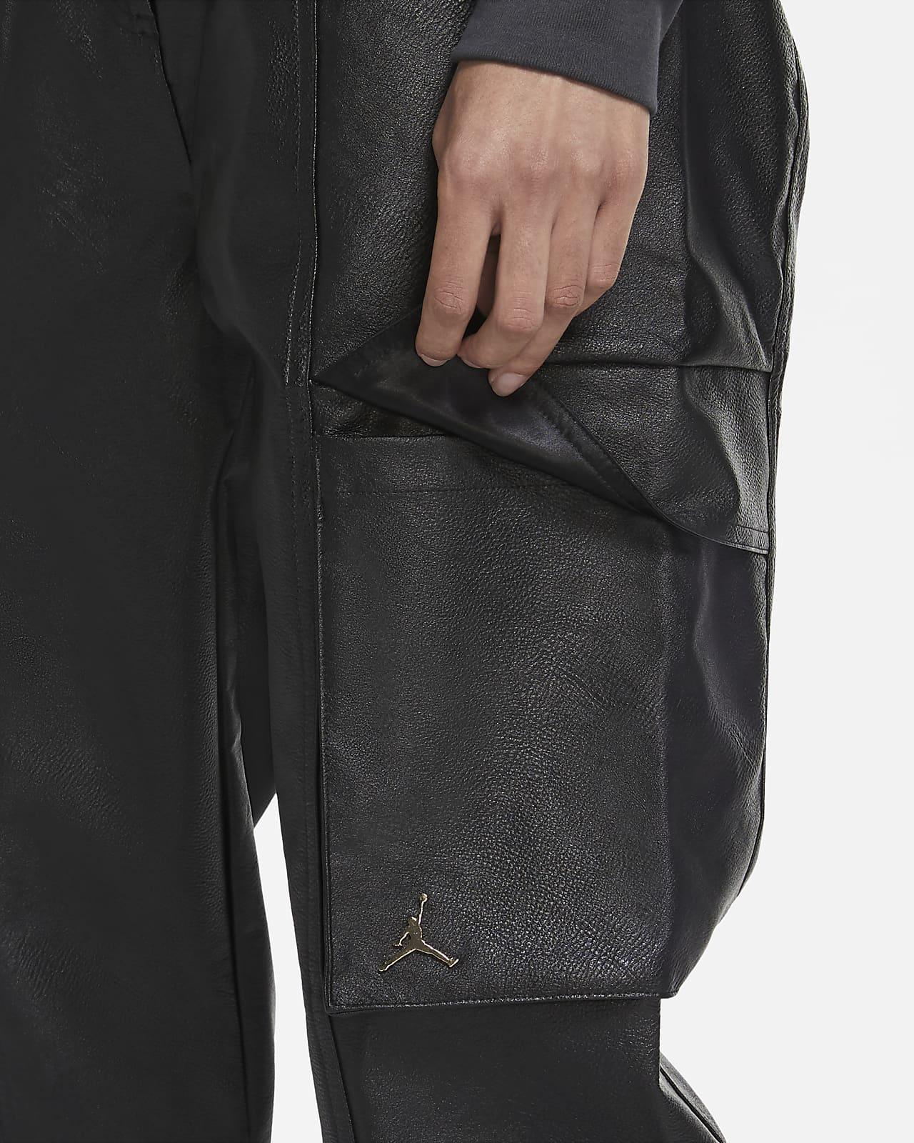 Jordan Court-To-Runway Women's Faux Leather Utility Pants. Nike.com