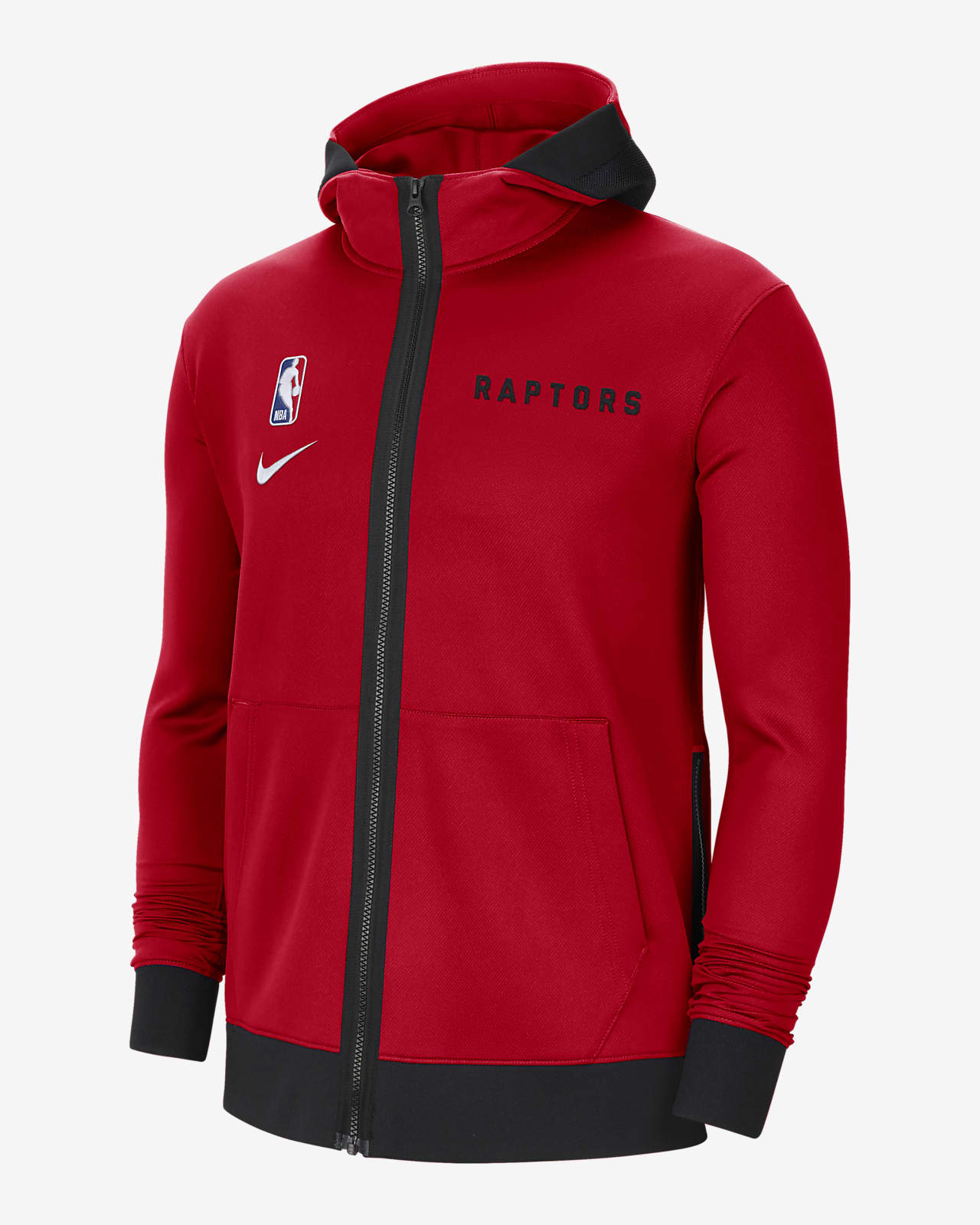 Toronto Raptors Showtime Nike Therma Flex NBA-Hoodie für Herren