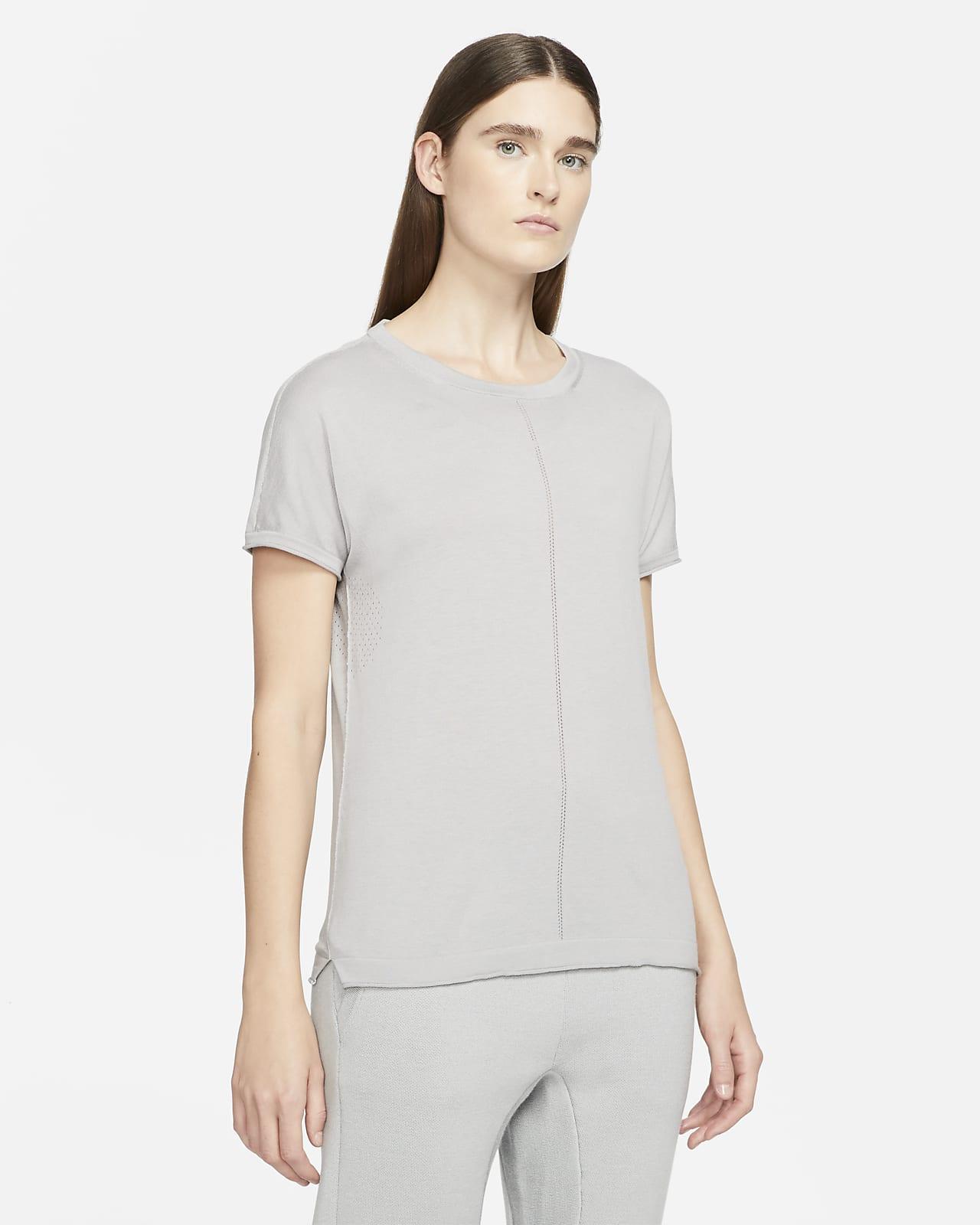 Nike ESC Strick-Kurzarmoberteil für Damen