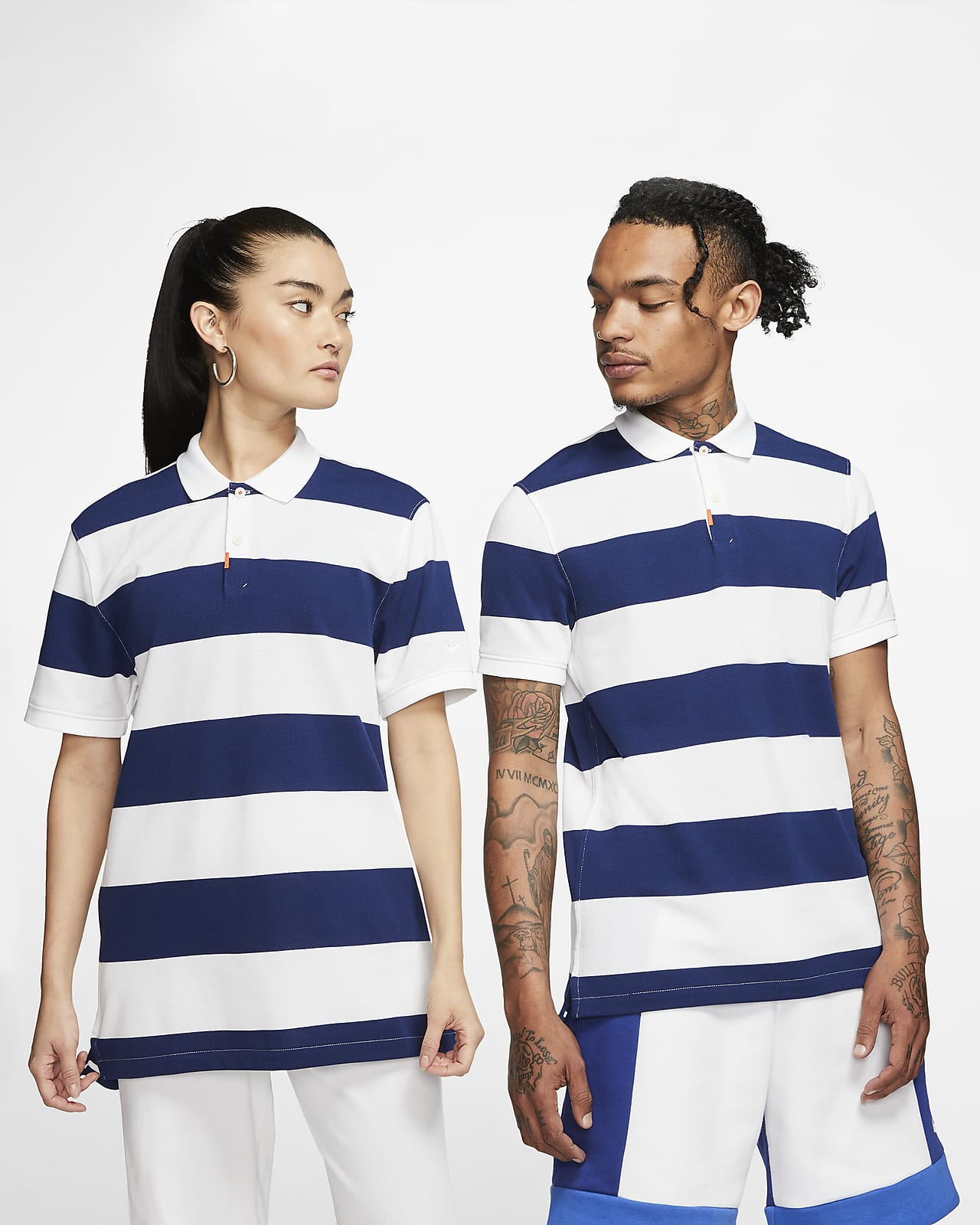 Polo a righe Slim Fit The Nike Polo - Unisex
