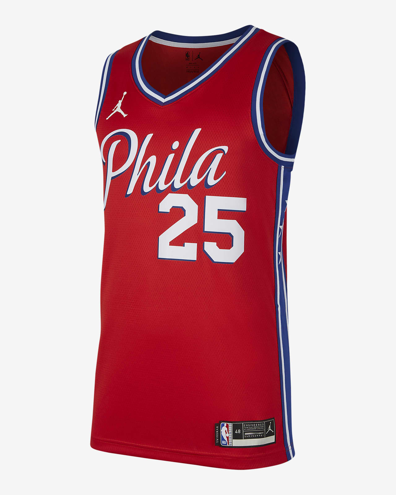 Ben Simmons 76ers Statement Edition 2020 Jordan NBA Swingman Jersey