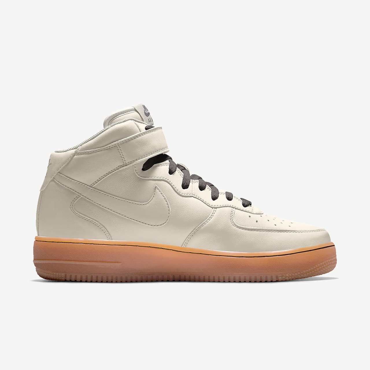 Nike Air Force 1 Mid By You Custom Men's Shoes