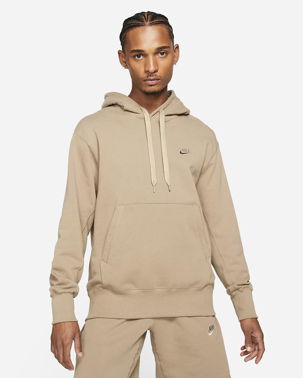 Klassisk fleecehuvtröja Nike Sportswear för män
