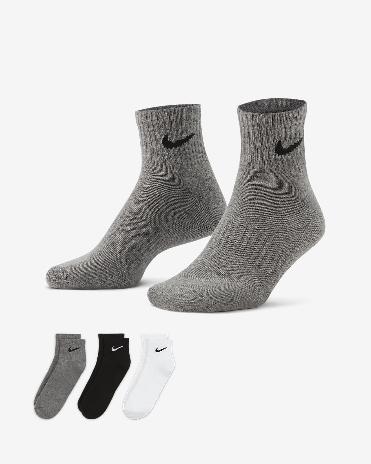 Nike Everyday Cushioned Trainings-Knöchelsocken (3 Paar)