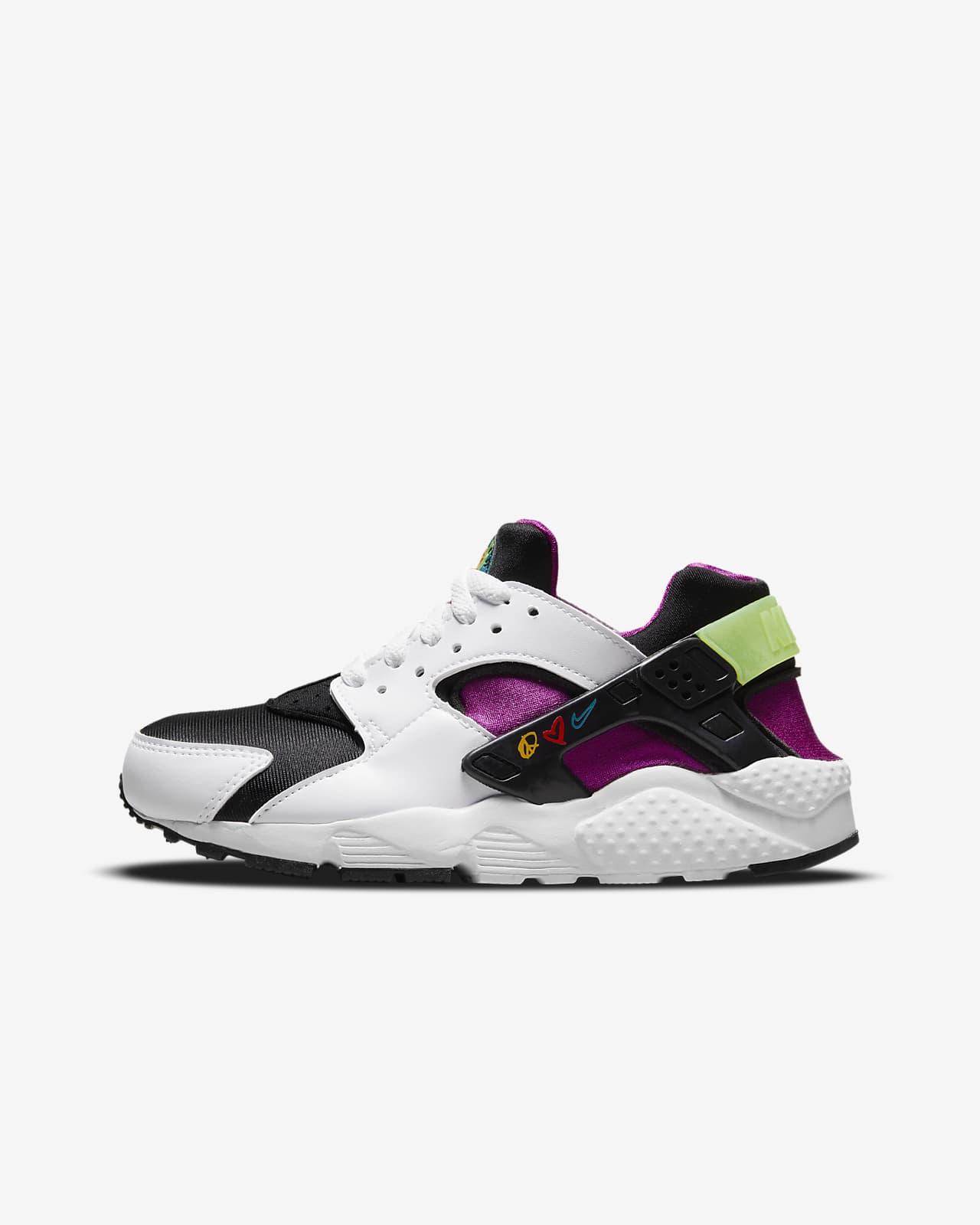 Nike Huarache Run Big Kids' Shoes