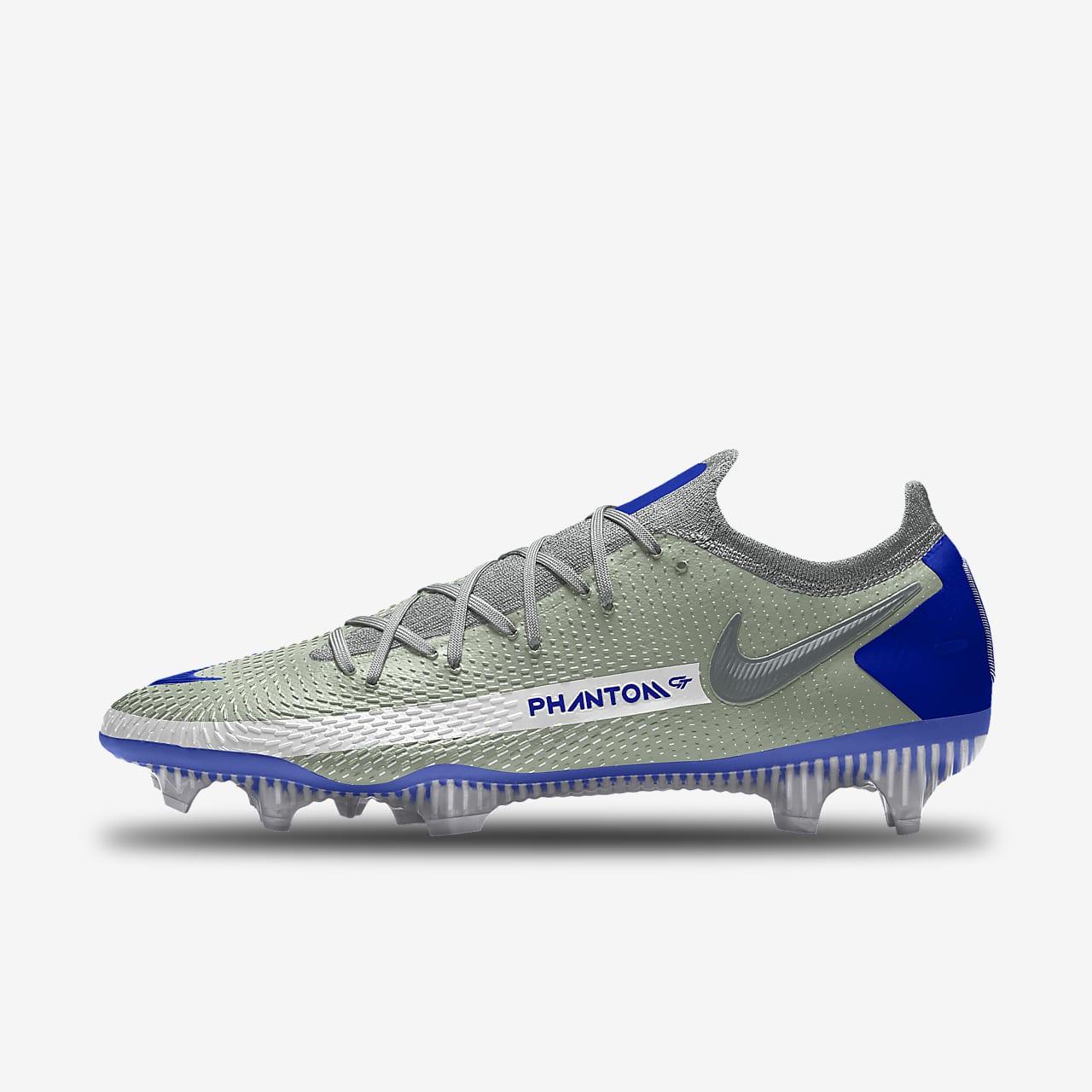 Nike Phantom GT Elite By You 专属定制暗煞系列天然硬质草地足球鞋