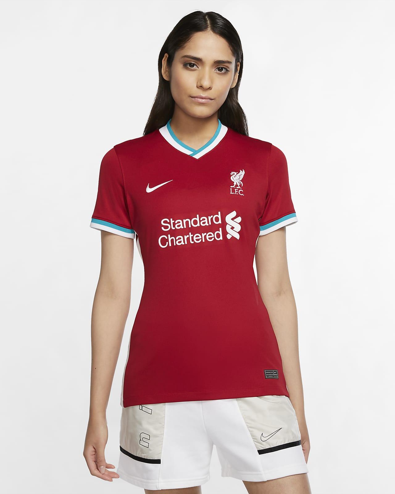 Liverpool FC 2020/21 Stadium Home Women's Football Shirt