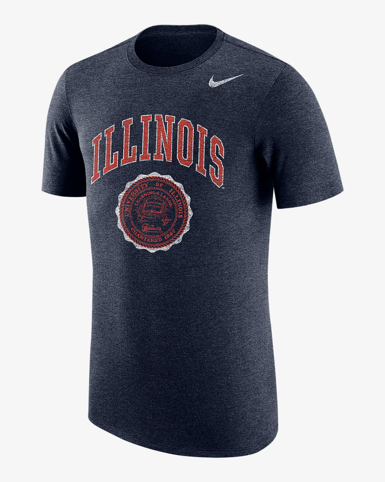 Nike College (Illinois) Men's T-Shirt