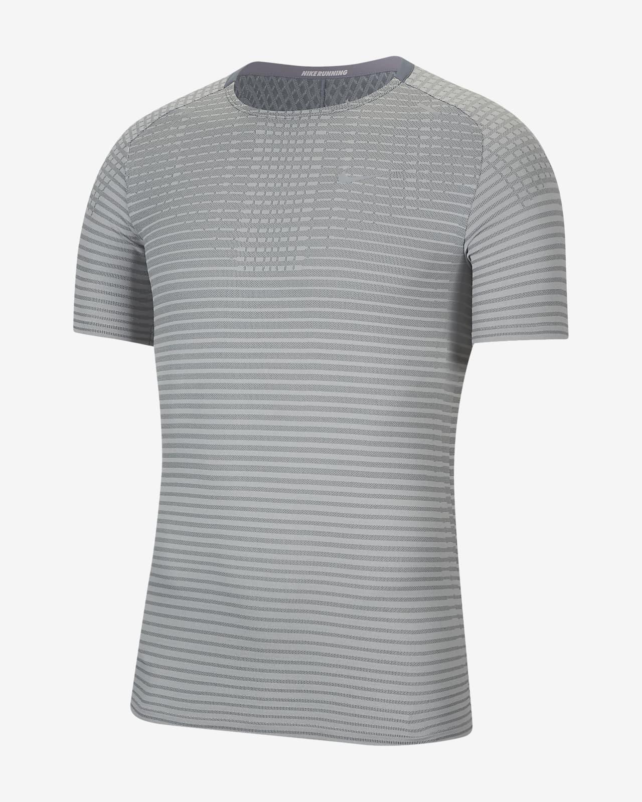 เสื้อวิ่งผู้ชาย Nike TechKnit Ultra