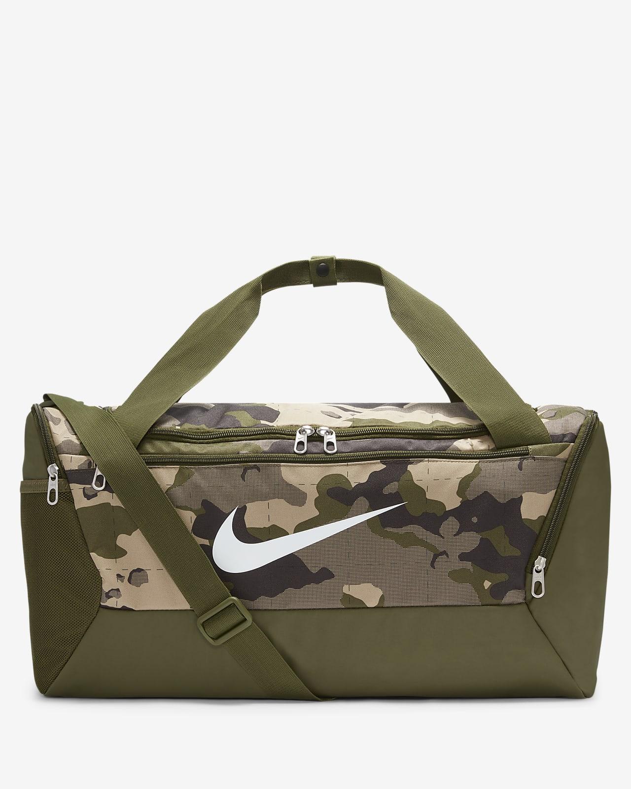 Nike Brasilia Camo-Trainingstasche (klein)
