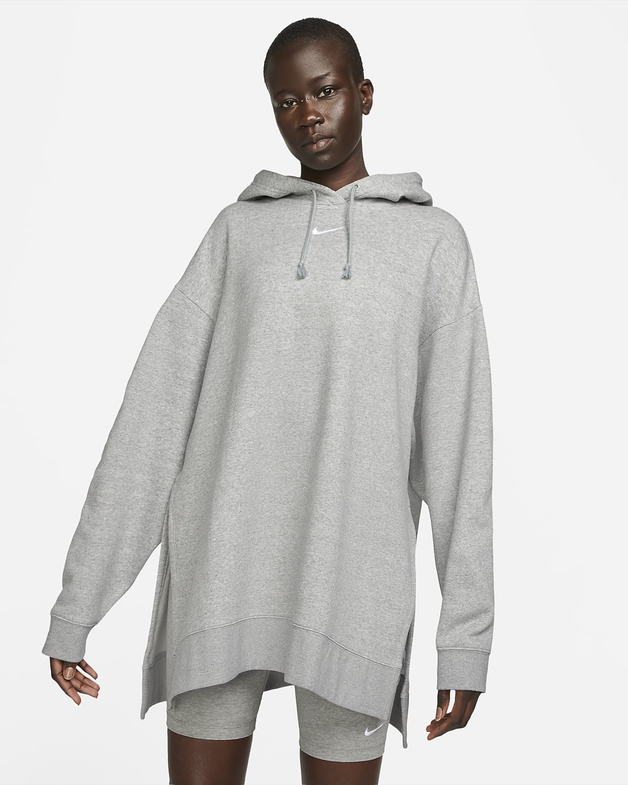 Nike Sportswear Essential-fleecehættetrøje til kvinder