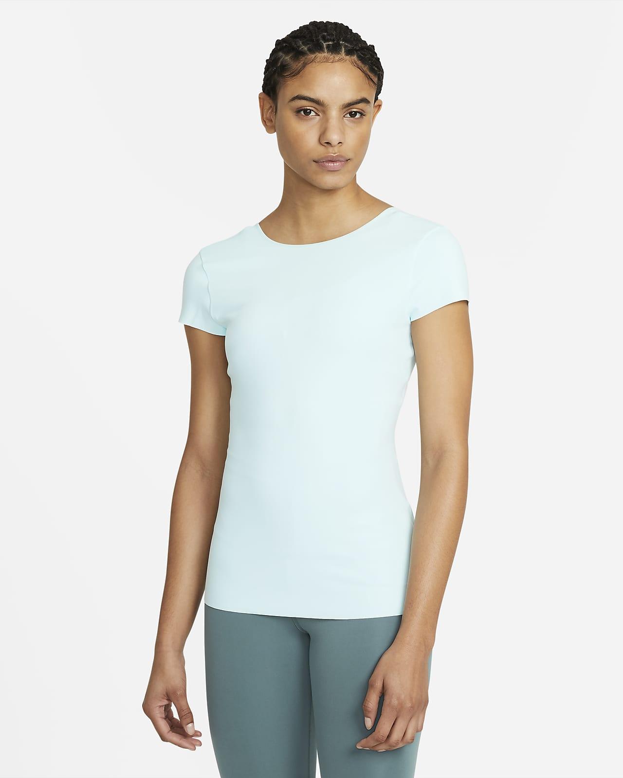 Nike Yoga Luxe Women's Short Sleeve Top