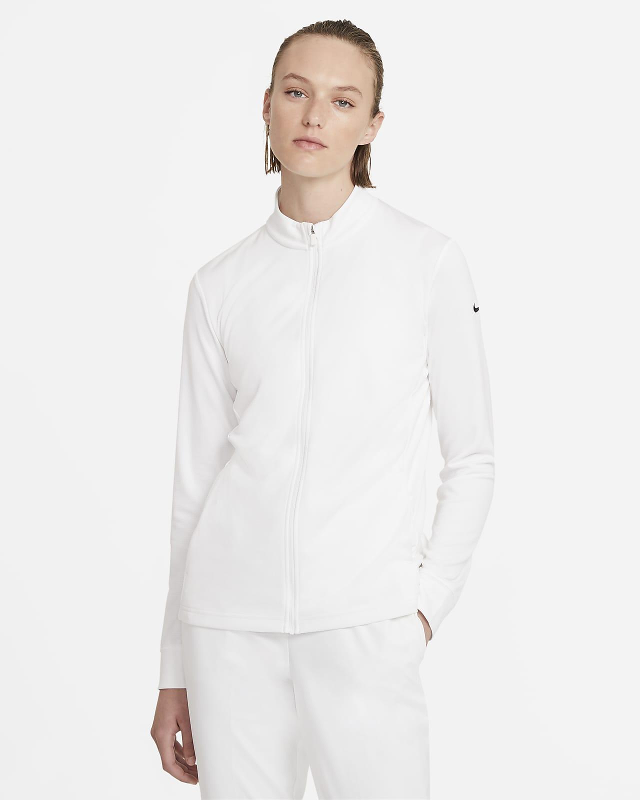 Женская футболка с молнией во всю длину для гольфа Nike Dri-FIT UV Victory