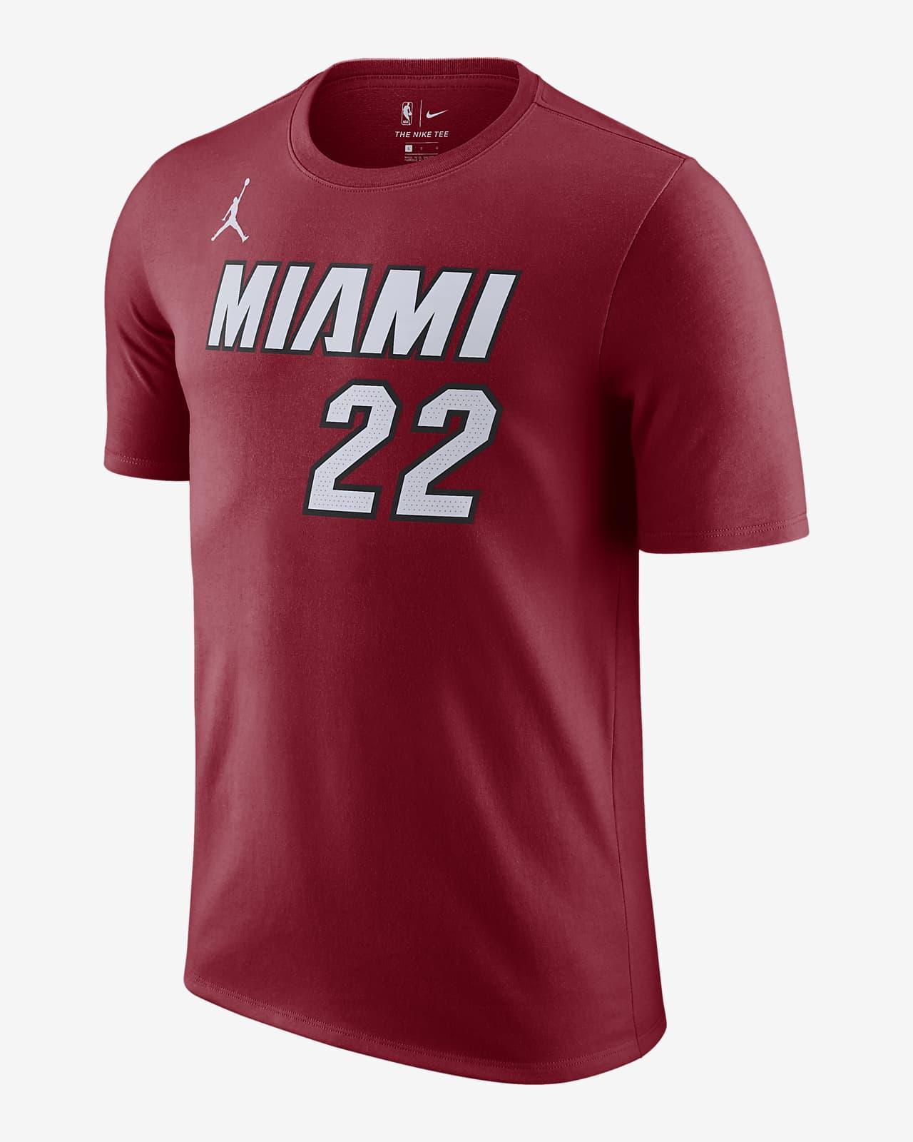 Jimmy Butler Heat Statement Edition Men's Jordan NBA T-Shirt