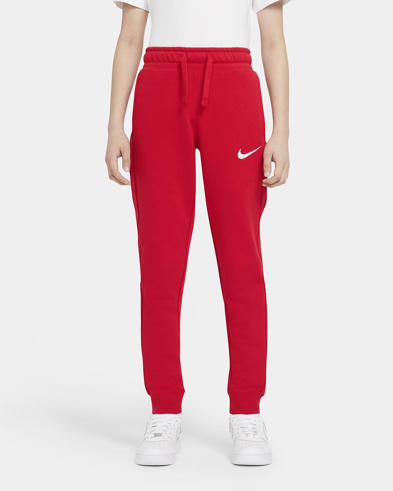 Флисовые брюки для мальчиков школьного возраста Nike Sportswear Swoosh