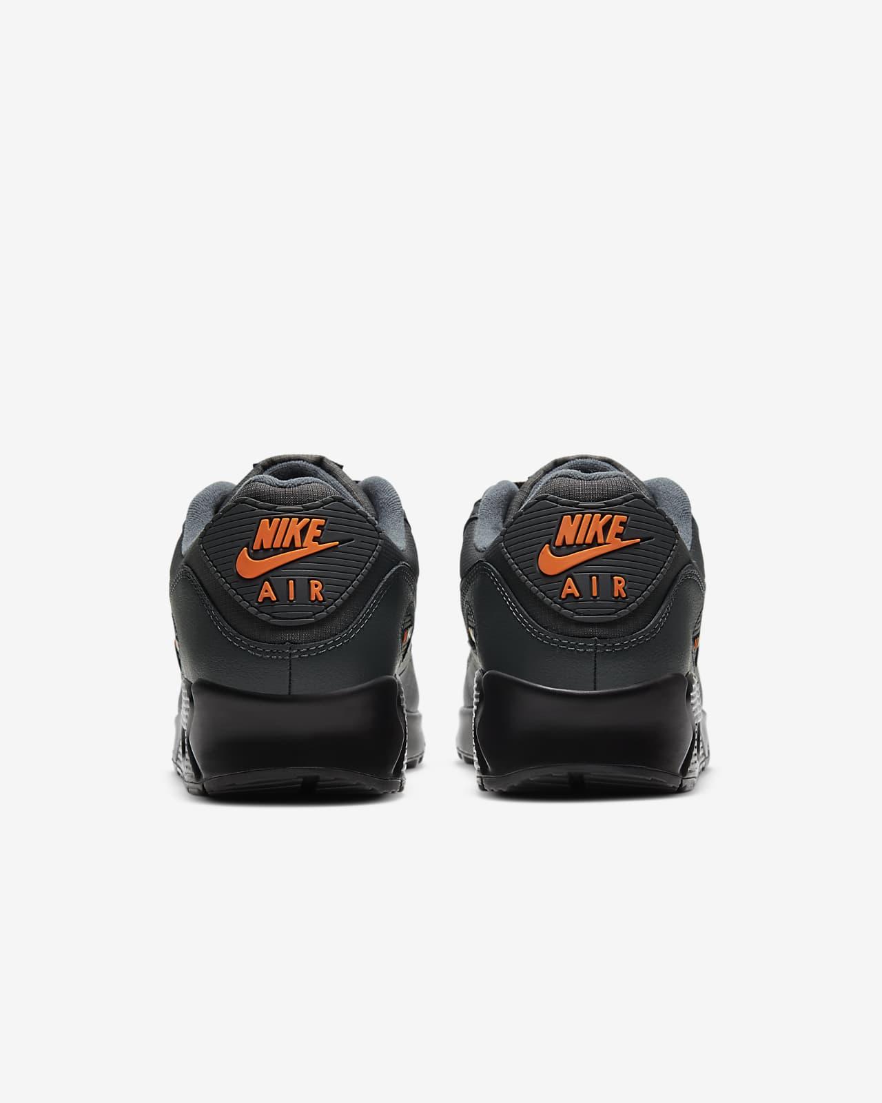 air max 90 homme orange et noir