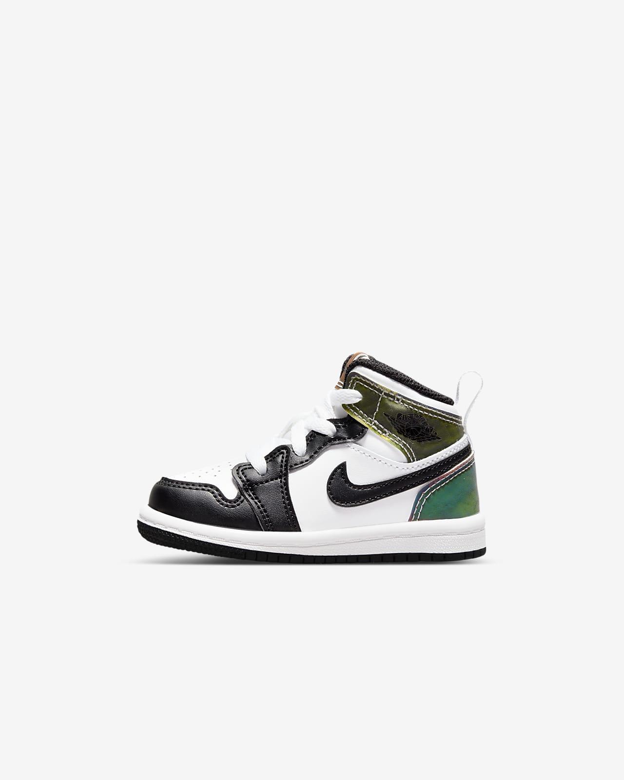 Jordan 1 Mid SE Baby & Toddler Shoes