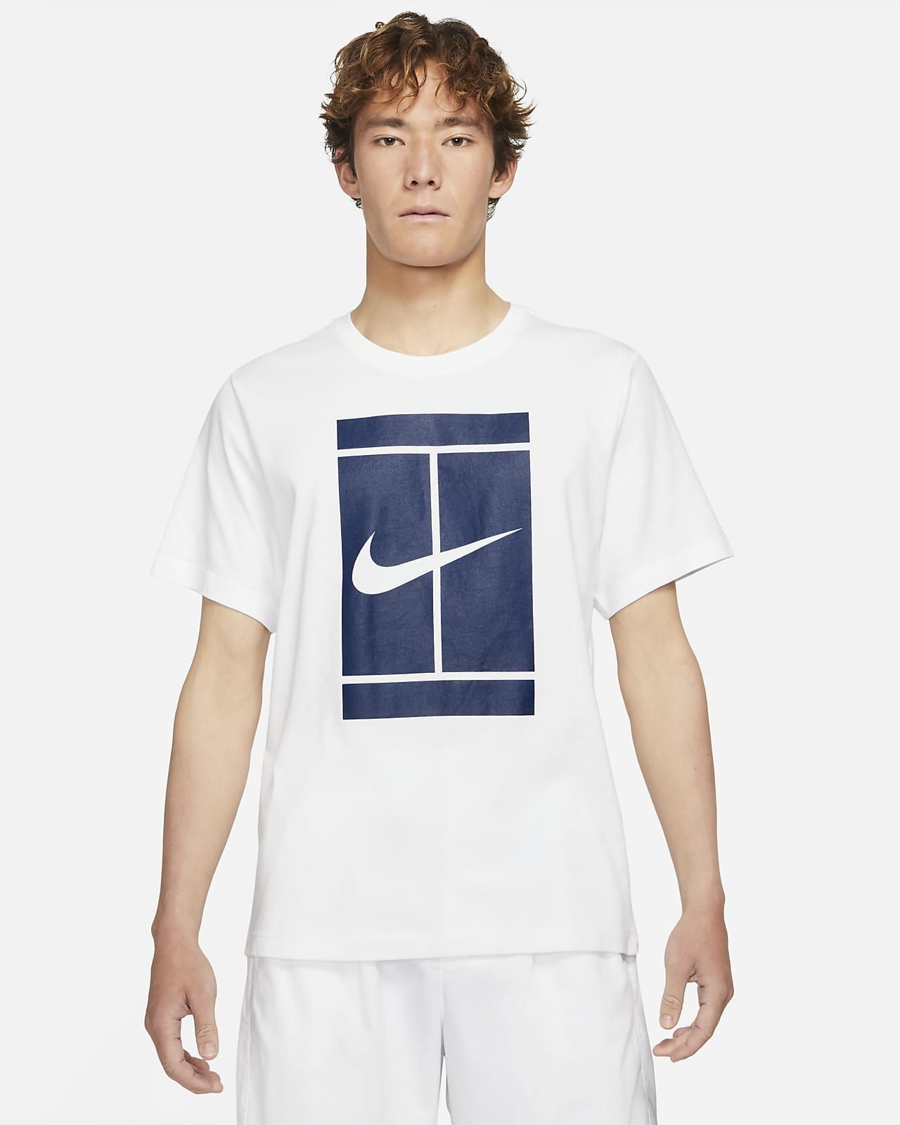 NikeCourt Tennis-T-Shirt für Herren