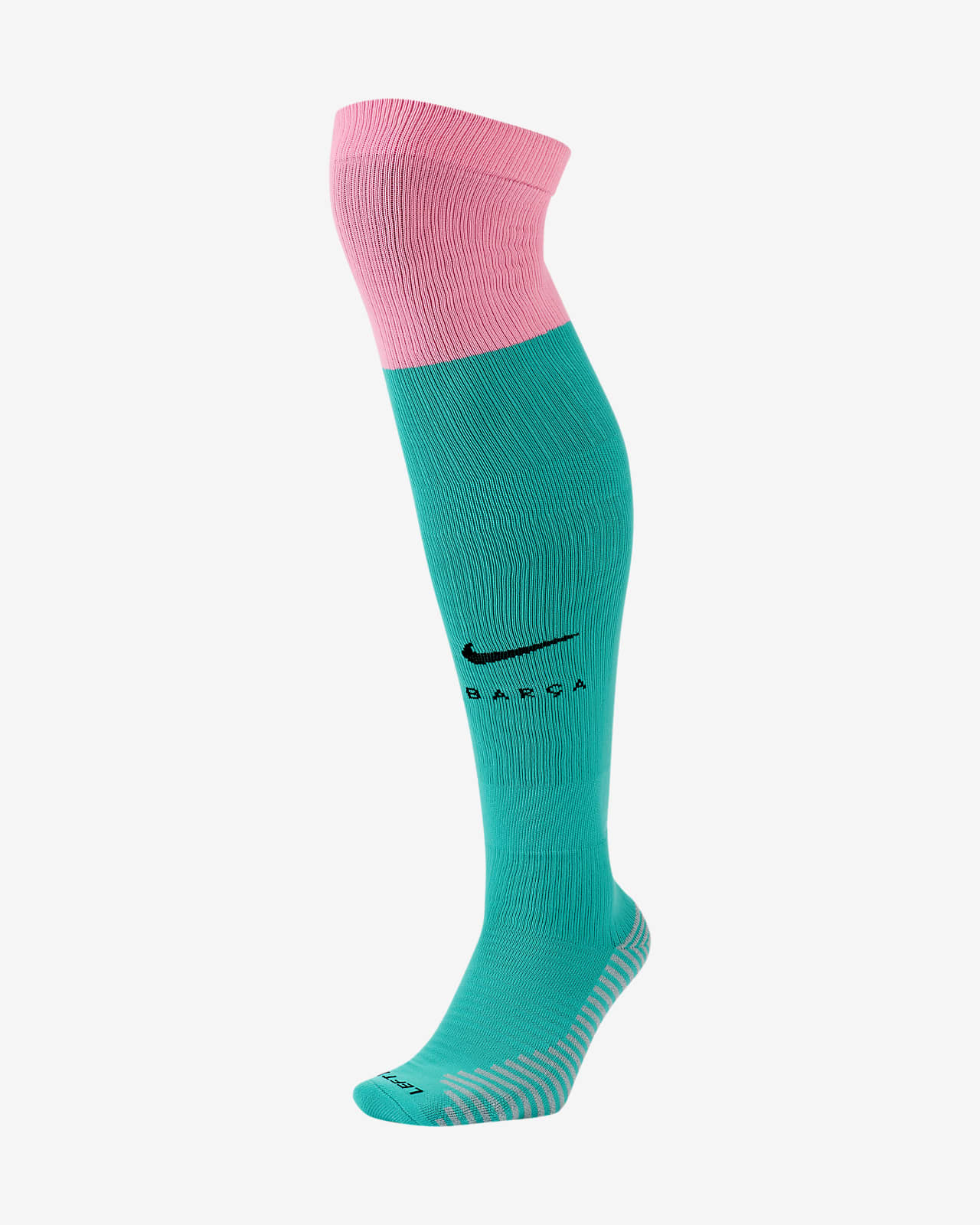 Ποδοσφαιρικές κάλτσες που φτάνουν επάνω από τη γάμπα Μπαρτσελόνα 2020/21 Stadium Third
