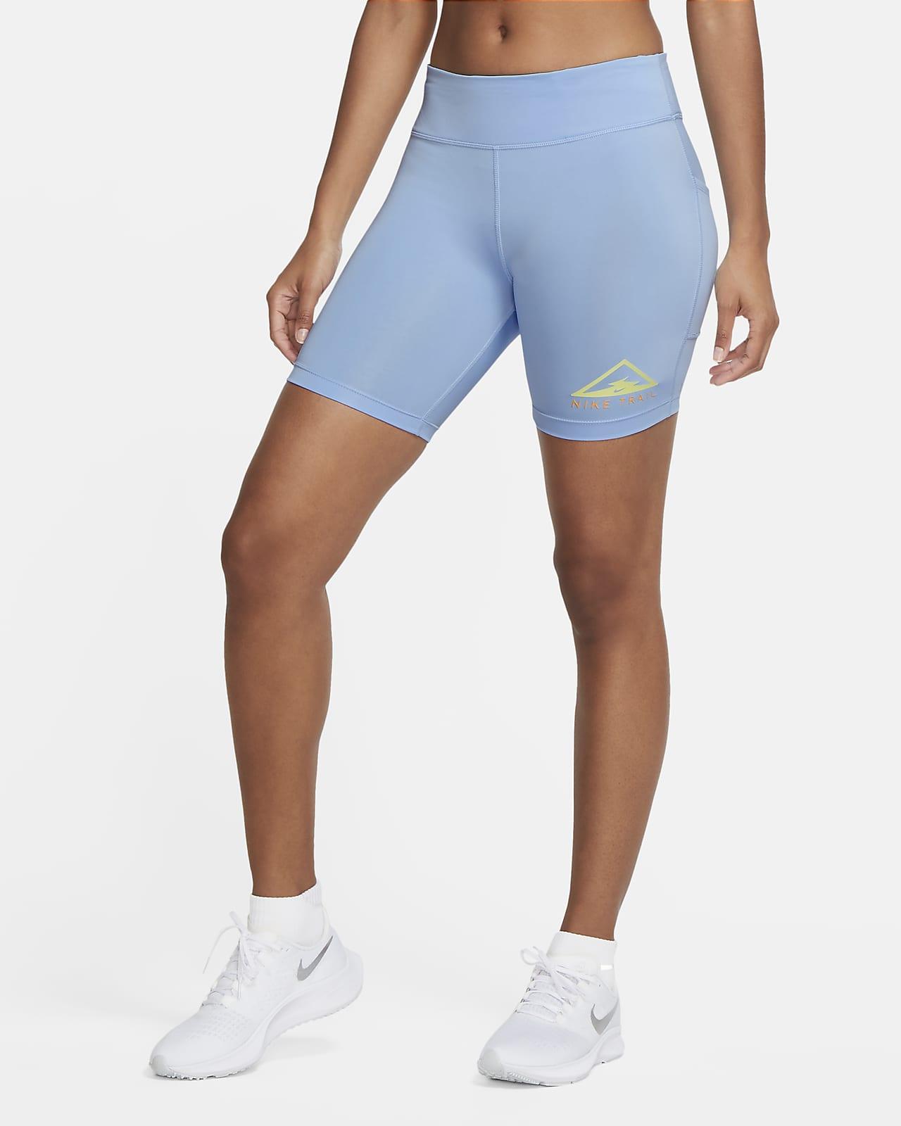 Damskie spodenki do biegania w terenie 18 cm Nike Fast