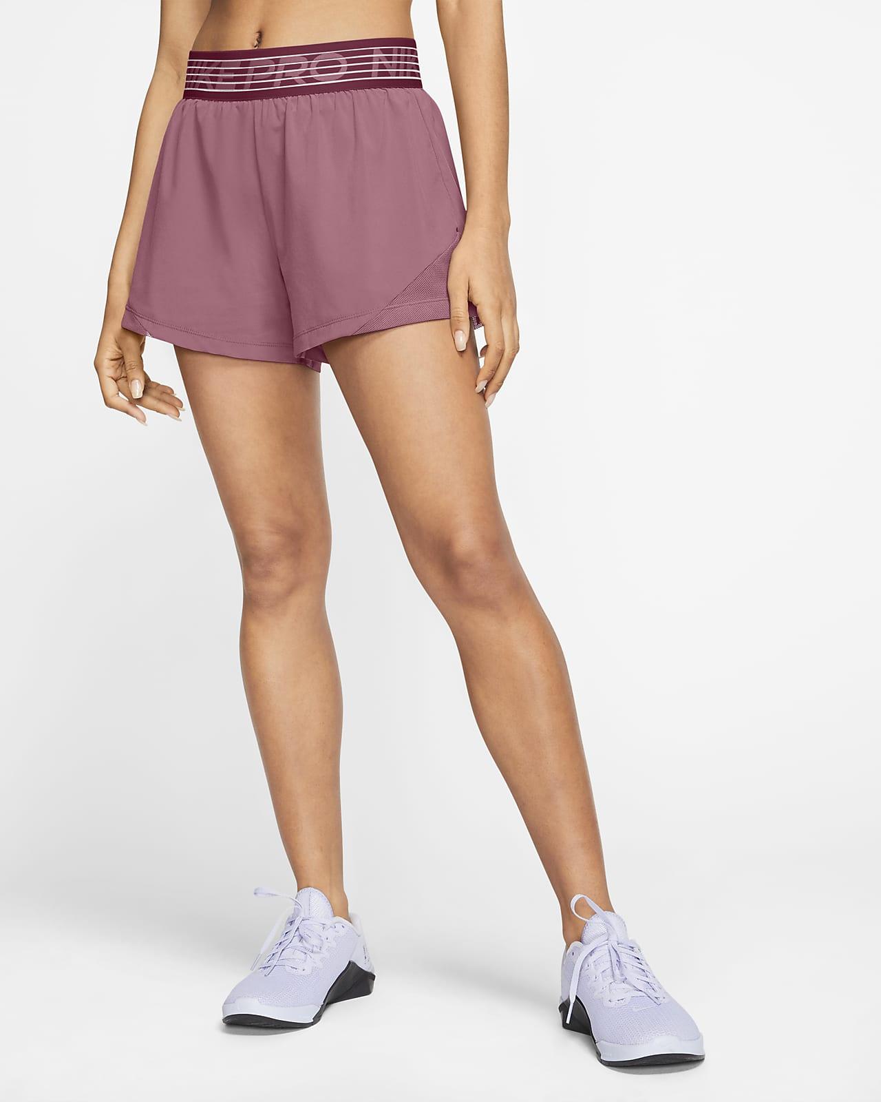กางเกงขาสั้น 2-in-1 ผู้หญิง Nike Pro Flex