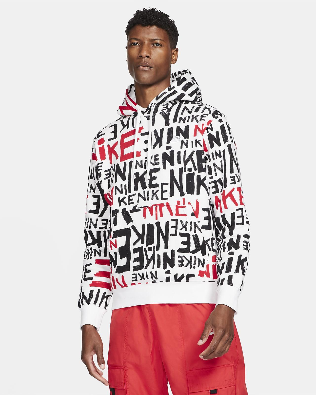 Felpa pullover con cappuccio Nike Sportswear Club - Uomo