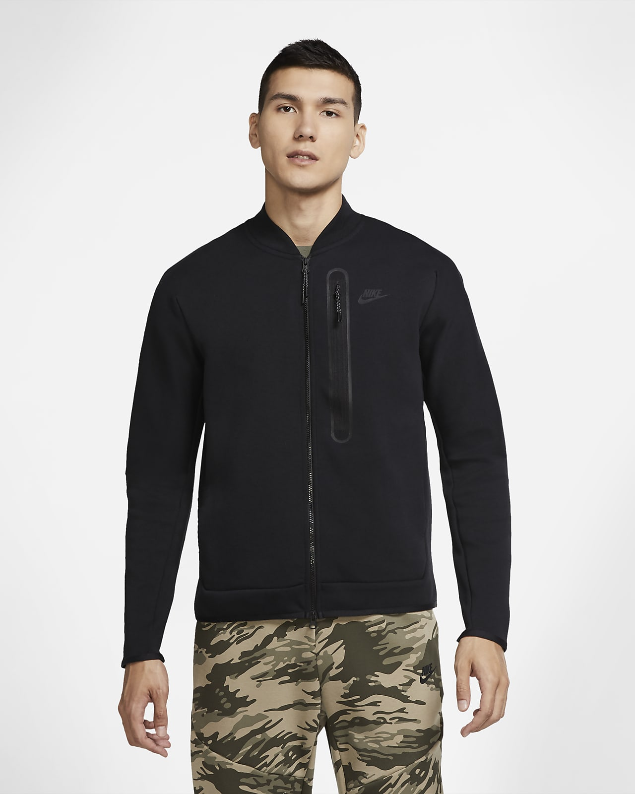Veste aviateur Nike Sportswear Tech Fleece pour Homme
