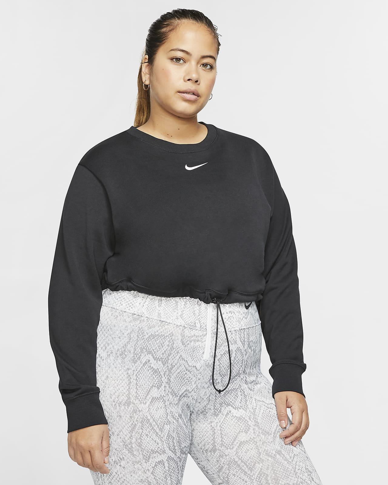 Nike Sportswear Swoosh Women's French Terry Crew (Plus Size)
