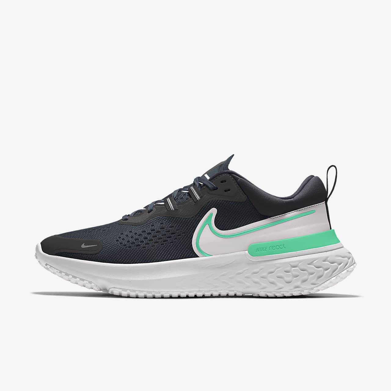 Chaussure de running personnalisable Nike React Miler2 By You pour Femme
