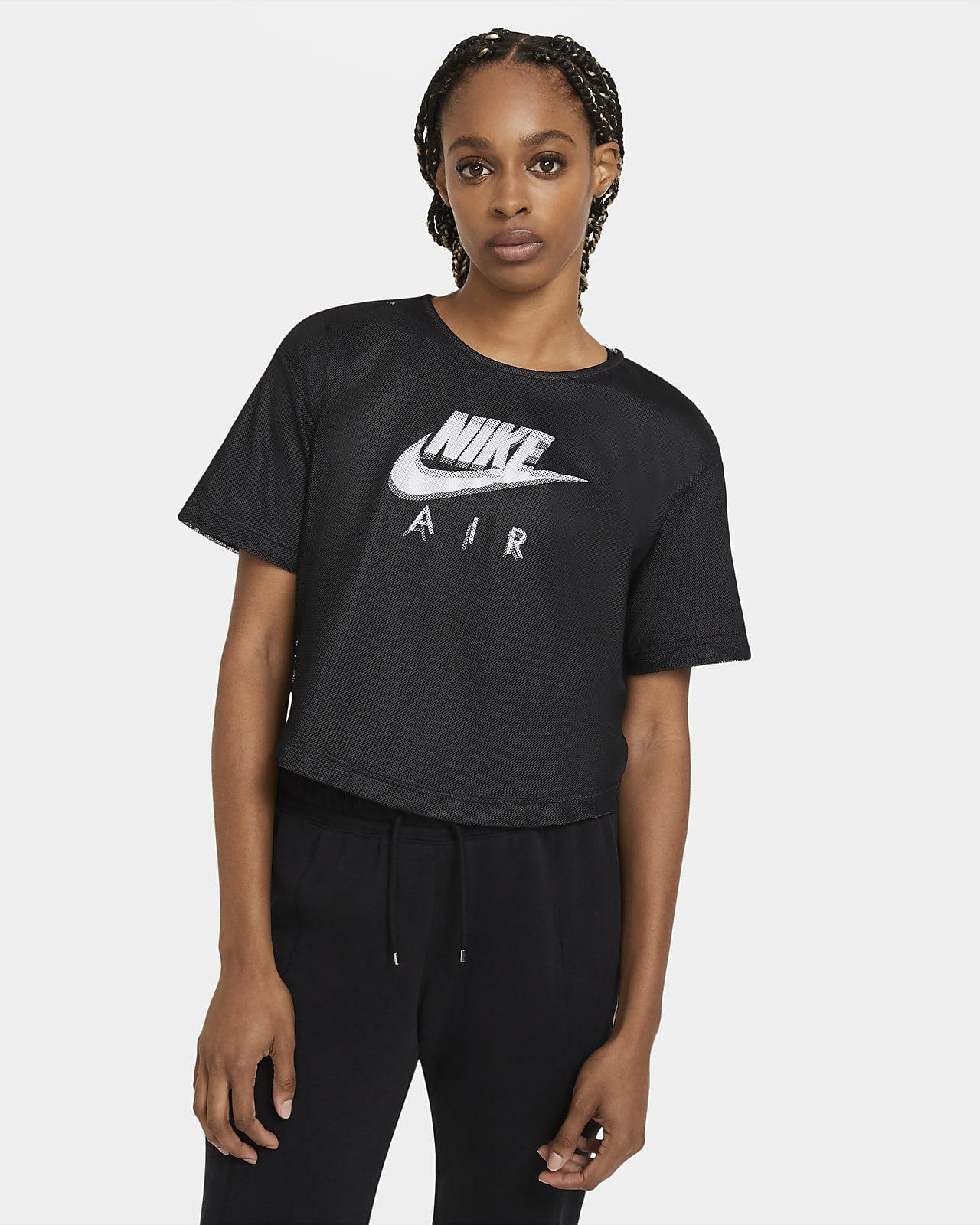 Nike Air Women's Mesh Short-Sleeve Top
