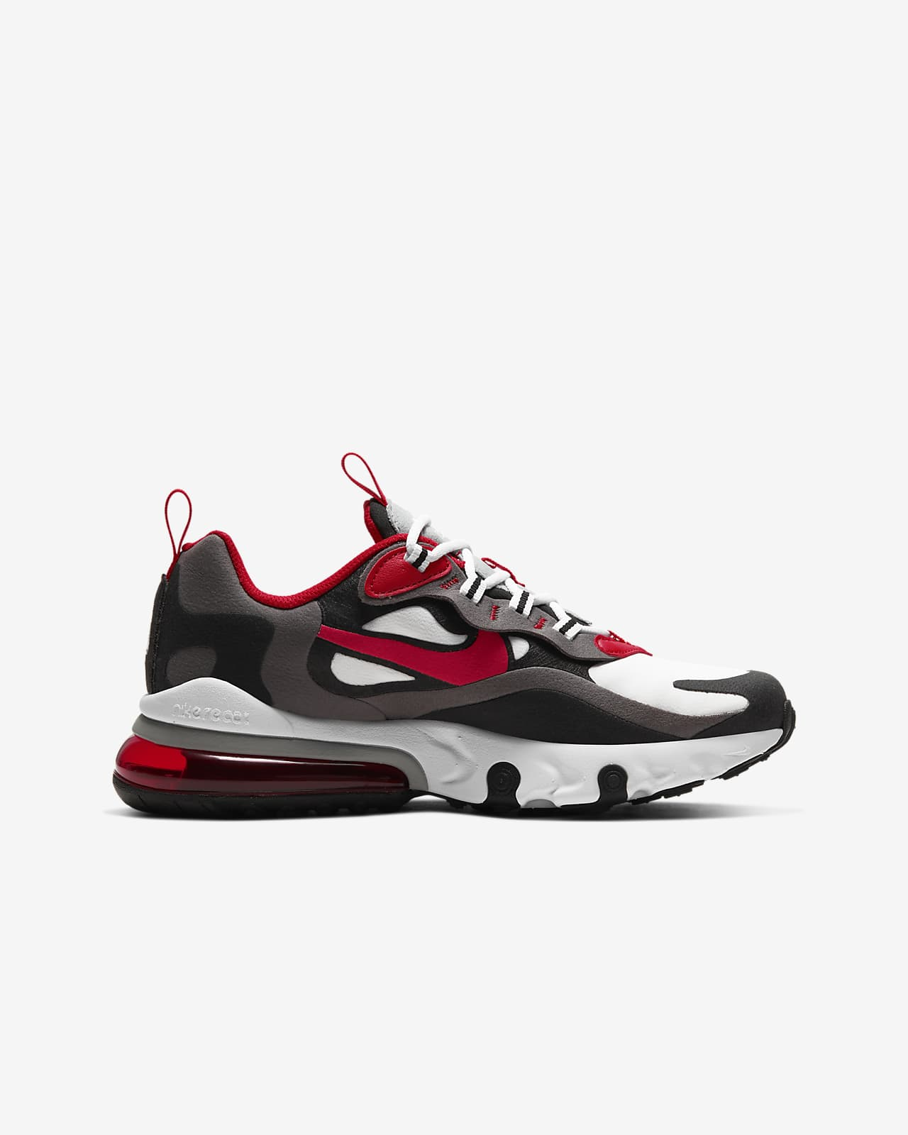 nike air max 270 negro y rojo