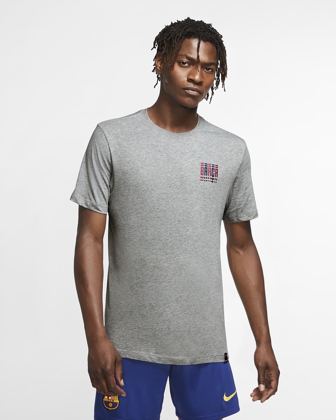 巴萨男子足球T恤