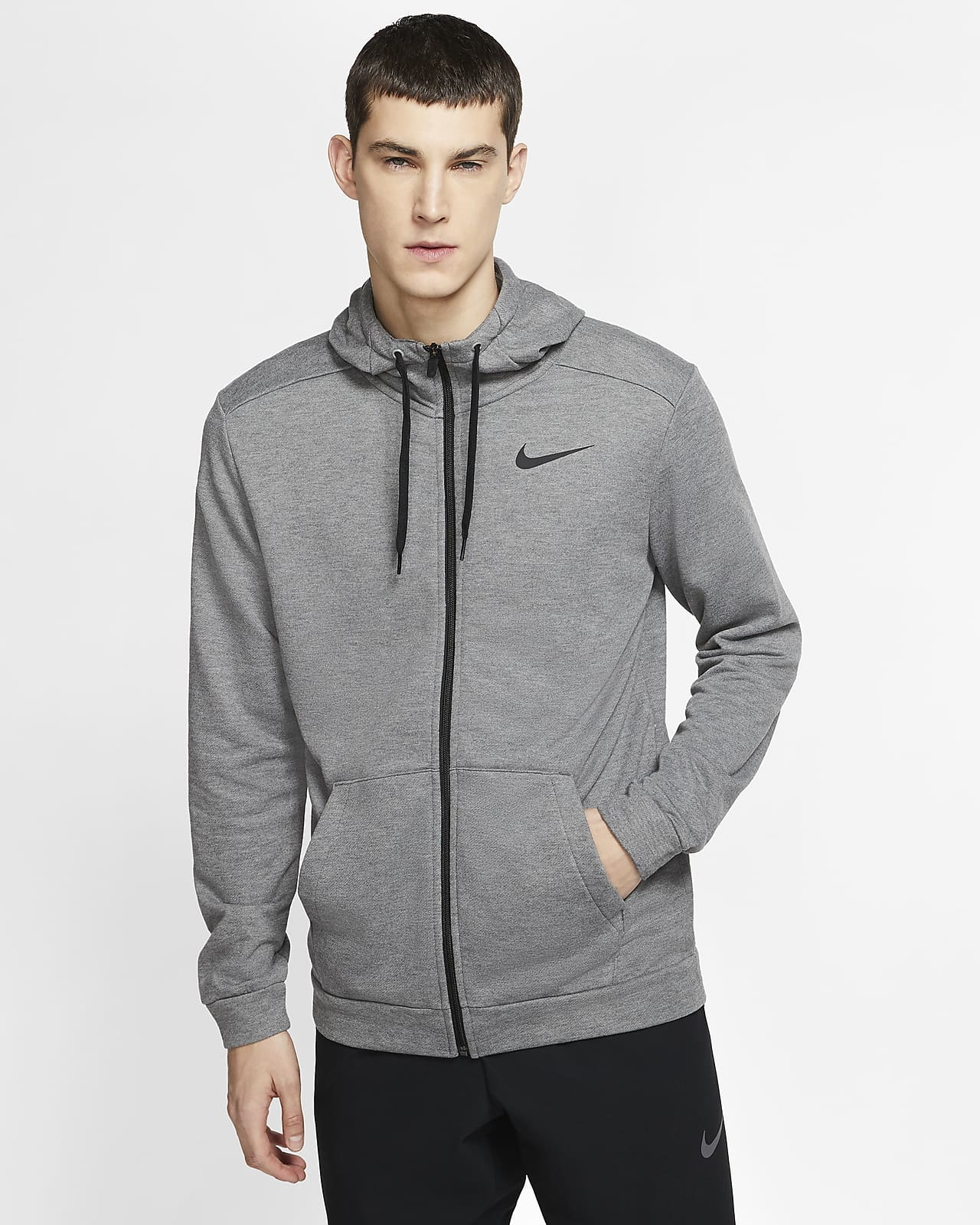 Cabecear Aislante antepasado  Nike Dri-FIT Men's Full-Zip Training Hoodie. Nike.com