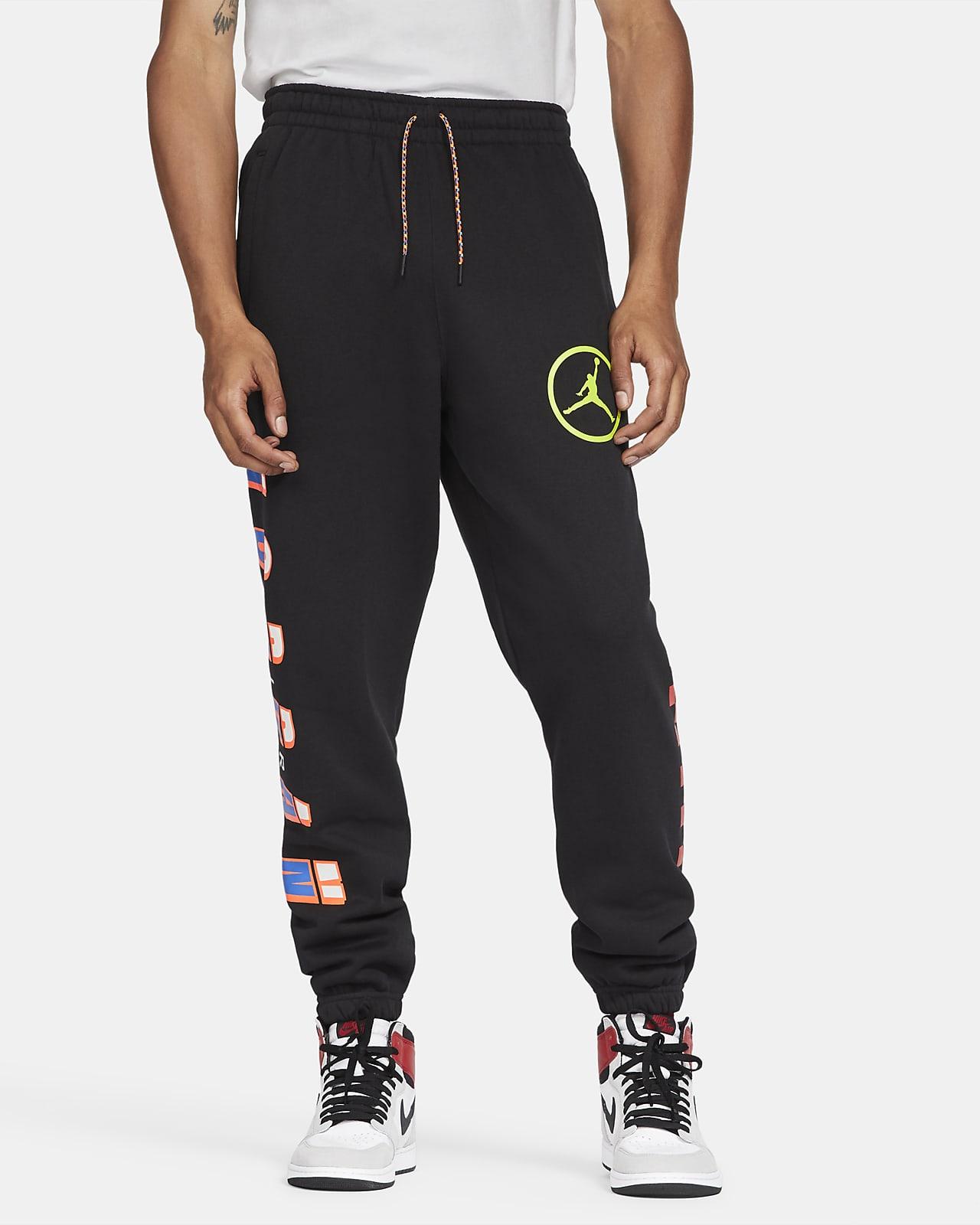 Pantalones de tejido Fleece para hombre Jordan Sport DNA