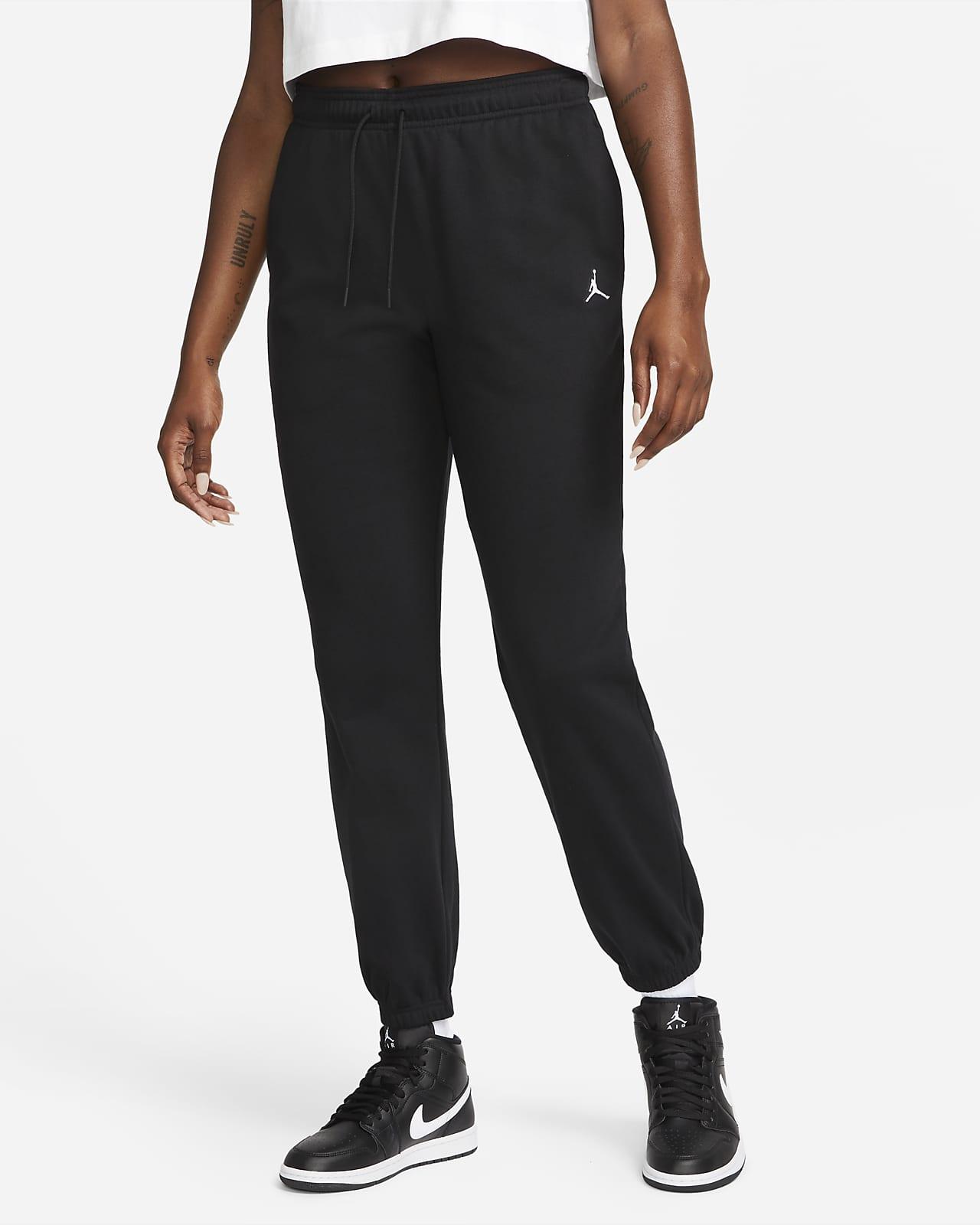 กางเกงขายาวผ้าฟลีซผู้หญิง Jordan Essentials