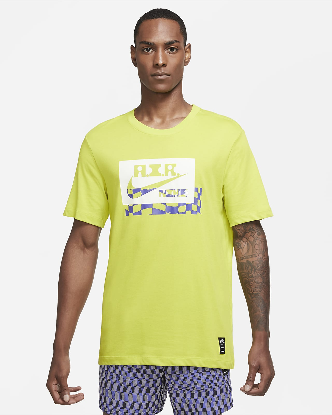 Nike Dri-FIT A.I.R. Chaz Bear Men's Running T-Shirt