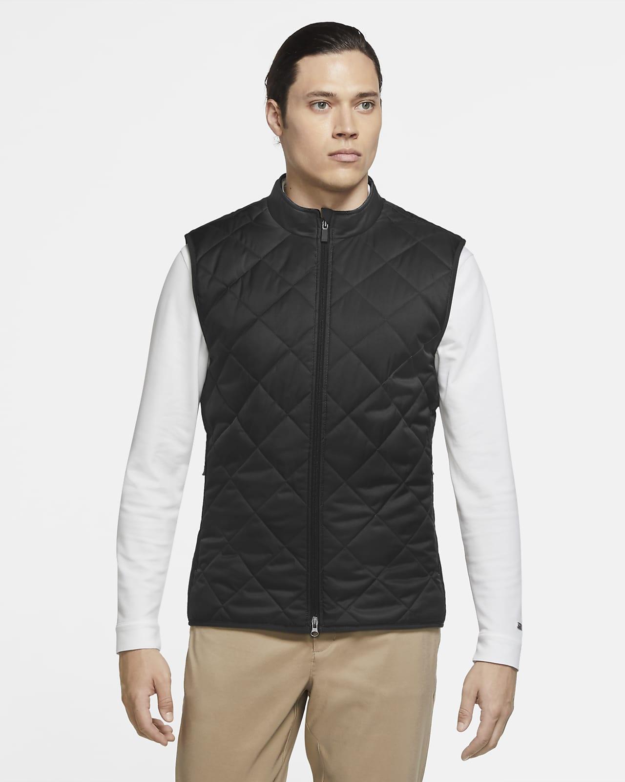 Cincuenta nacimiento controlador  Nike Men's Reversible Synthetic-Fill Golf Vest. Nike.com