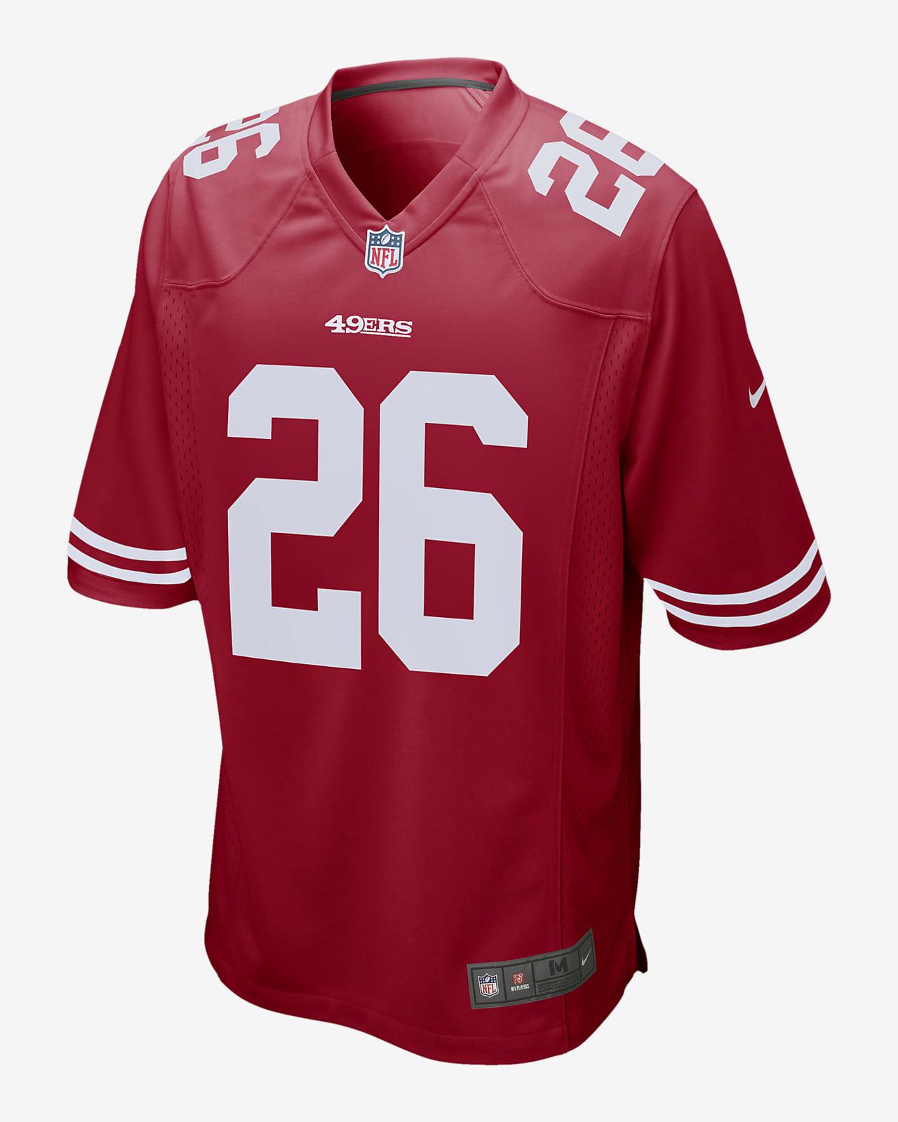 NFL San Francisco 49ers (Tevin Coleman) Men's Game Football Jersey