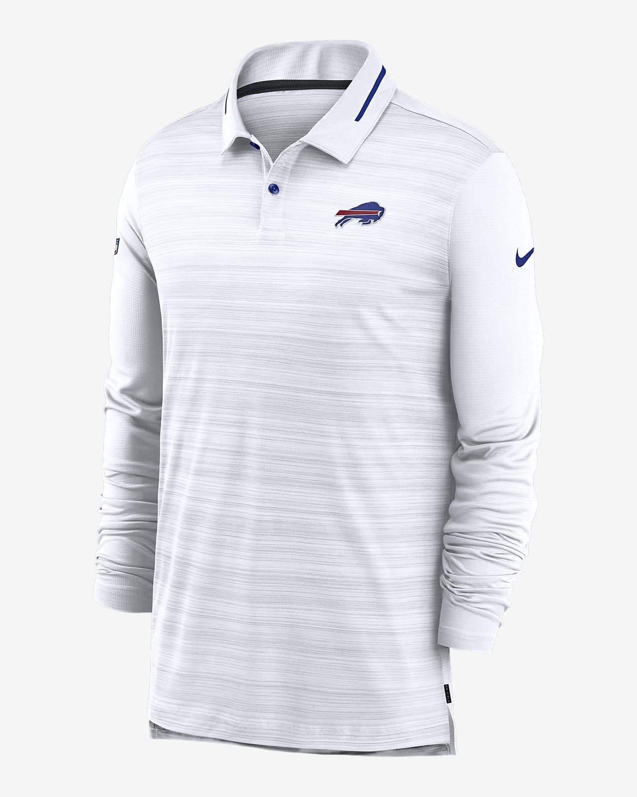 Nike Logo (NFL Bills) Men's Long-Sleeve Polo