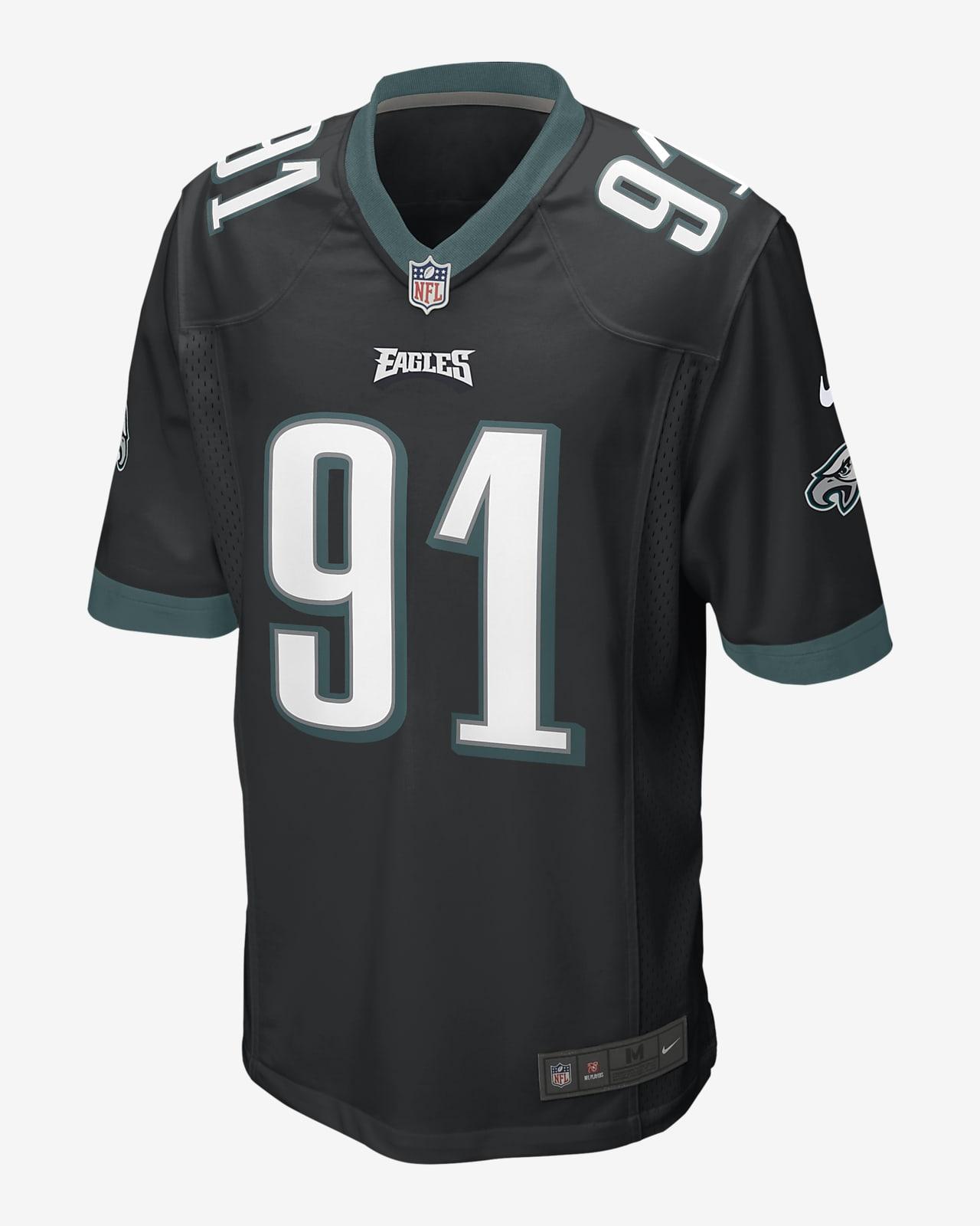 NFL Philadelphia Eagles (Fletcher Cox) Men's Game Football Jersey
