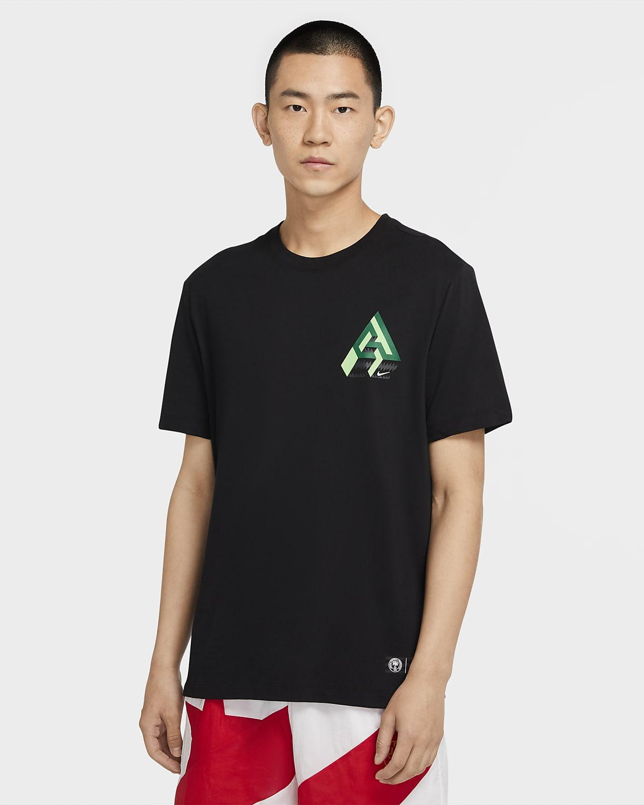 ナイキ Dri-FIT ヤニス ロゴ メンズ バスケットボール Tシャツ