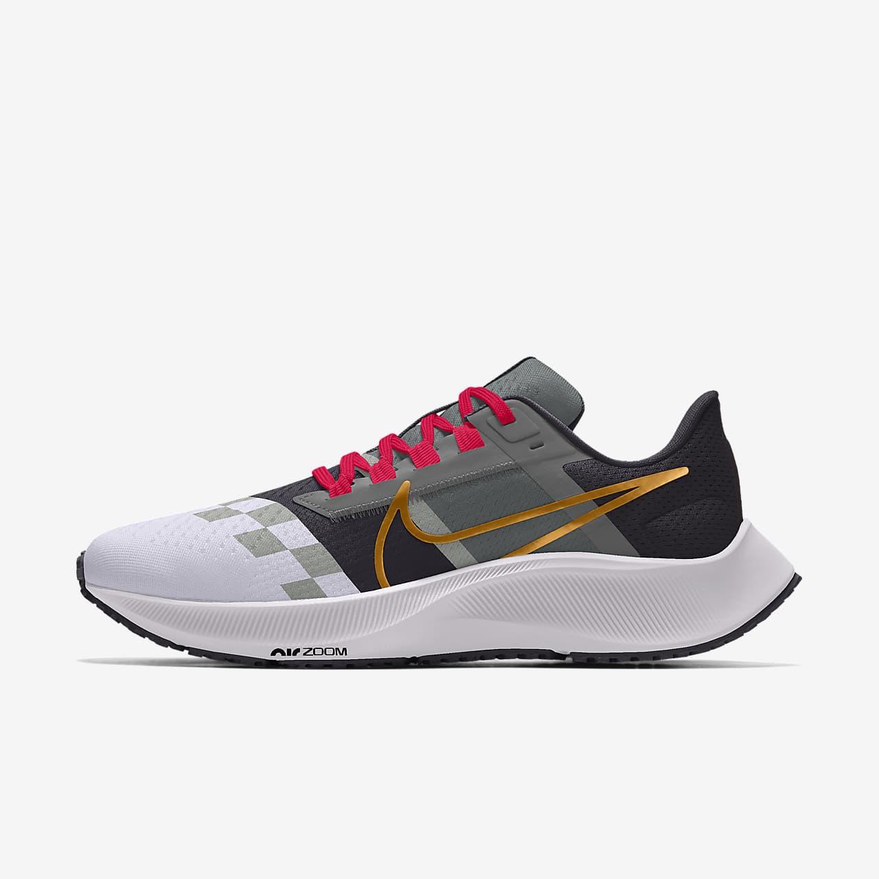 Nike Air Zoom Pegasus 38 By You 男子公路跑步鞋